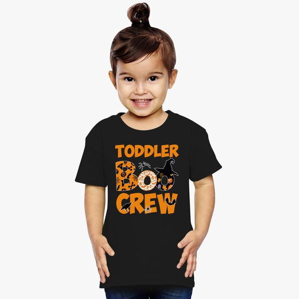 01b68a785 Halloween Shirt Cute Toddler Boo Crew Teacher Kids Toddler T-shirt |  Kidozi.com