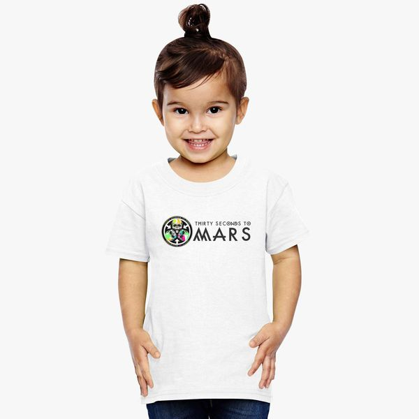 75a96513 Thirty Seconds To Mars Toddler T-shirt | Kidozi.com