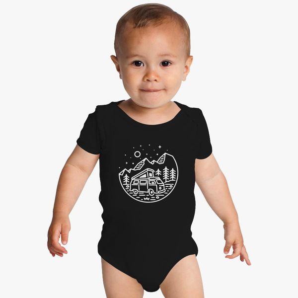 61e1d528631a Go Outdoor (for Dark) Baby Onesies