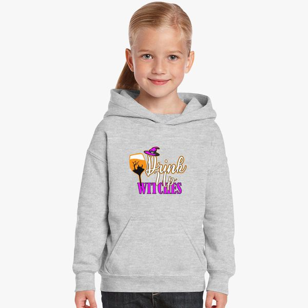 0c065d1a6e90bd Drink Up Witches Kids Hoodie | Kidozi.com
