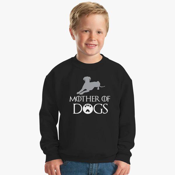 92533109 Mother of Dogs Kids Sweatshirt   Kidozi.com