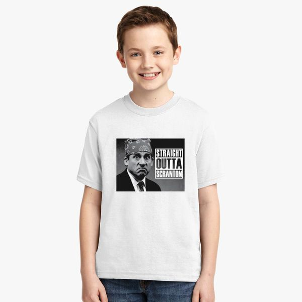 3c9f7aa0b8716 Straight Outta Scranton Youth T-shirt | Kidozi.com