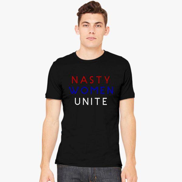 7c2560c3 Nasty Women Unite Men's T-shirt | Kidozi.com
