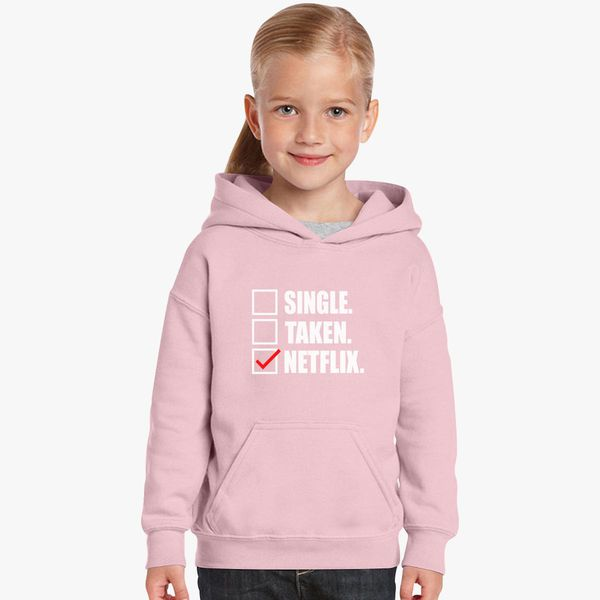 Single Taken Netflix Kids Hoodie | Kidozi com