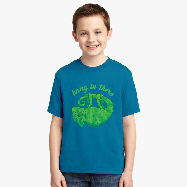 Chameleon Youth Housing: Hang In There Magical Chameleon Youth T-shirt