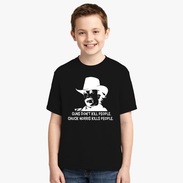 5f536e22a4 Chuck Norris Facts Men's Youth T-shirt | Kidozi.com