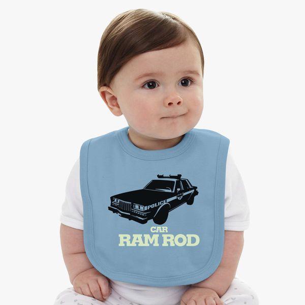 Car Ramrod Baby Bib