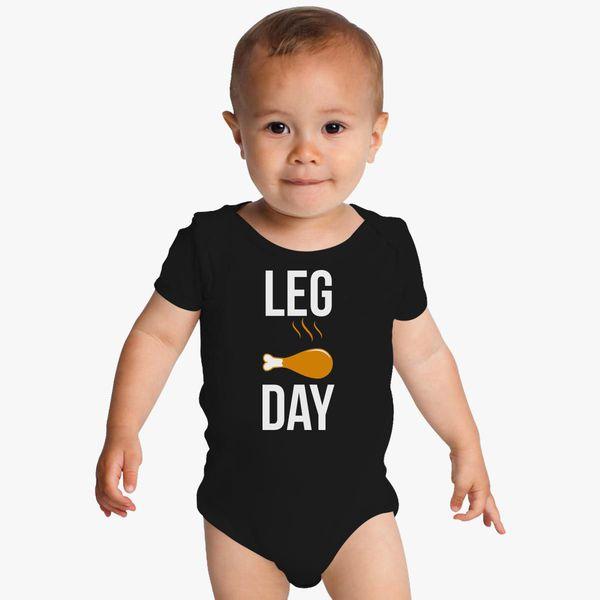 Hip Hip Leg Day Thanksgiving onesie-