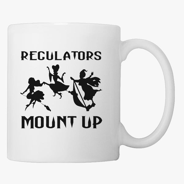 Regulators Mount Up Shirt Witches Halloween Coffee Mug Kidozi Com Please update this block in the layout tab of your site admin. regulators mount up shirt witches