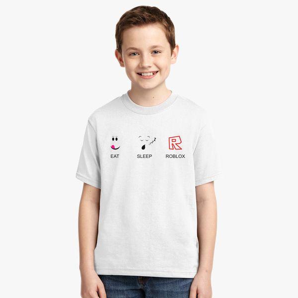 ce583bc04 Eat Sleep And Roblox Youth T-shirt | Kidozi.com