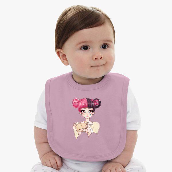 Melanie Martinez Crybaby Anime Face So Cute Baby Bib Kidozi Com