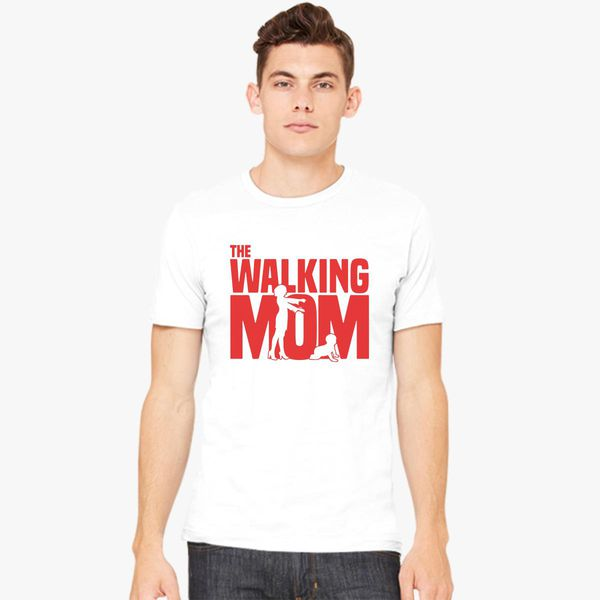 3216bd757 Funny The Walking Mom - Mother's Day Gifts Men's T-shirt | Kidozi.com