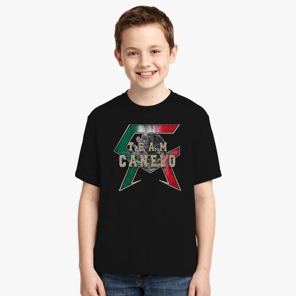 811da54c0 TEAM CANELO - CANELO ALVAREZ Youth T-shirt   Kidozi.com