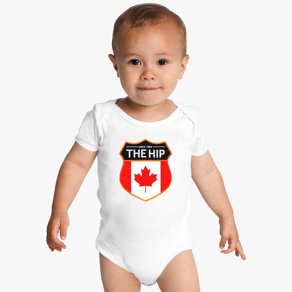 654329077 The-Tragically-Hip Baby Onesies