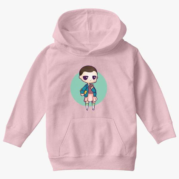 eleven s mall outfit roblox Stranger Things Cute Eleven Hand Draw Design Kids Hoodie Kidozi Com