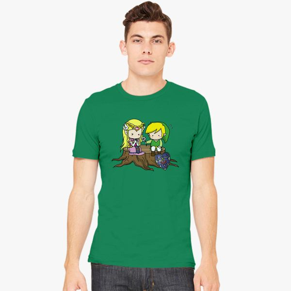 e8250830a9511 Zelda X Link Men s T-shirt +more