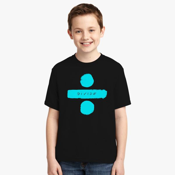 Ed-Sheeran Divide Youth T-shirt | Kidozi com