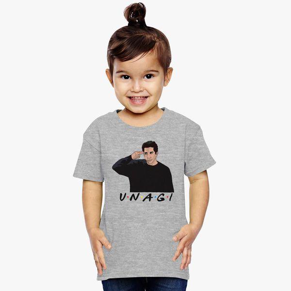 c464d8cb94c Unagi Ross Friends Toddler T-shirt ...