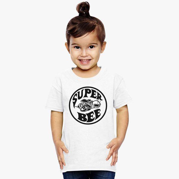611068fb9 Dodge Super Bee Logo Toddler T-shirt | Kidozi.com