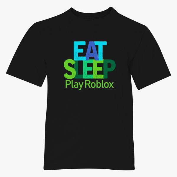 Blue Snakes Tshirt Roblox Eat Sleep Play Roblox Youth T Shirt Kidozi Com