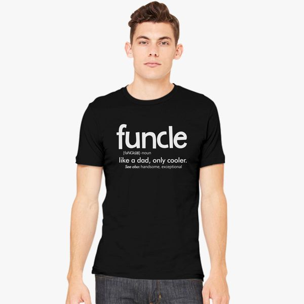 c64ddfb4 funcle like a dad only cooler Men's T-shirt | Kidozi.com