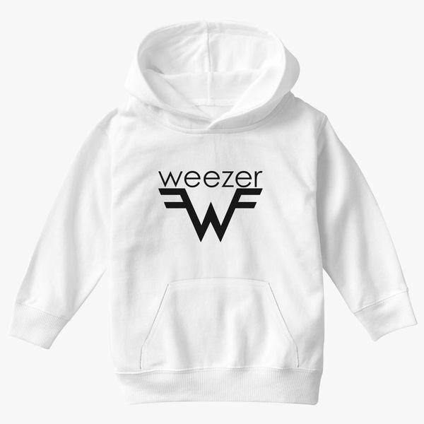 Weezer Christmas Sweater.Weezer Logo Kids Hoodie Kidozi Com