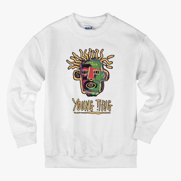 09036958c89f Young Thug - Old English Kids Sweatshirt