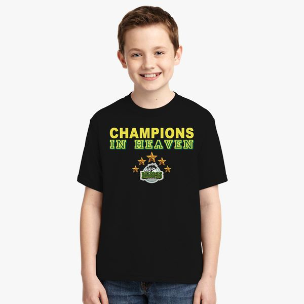 4bf12cb09 Humboldt Broncos Champions In Heaven Youth T-shirt +more