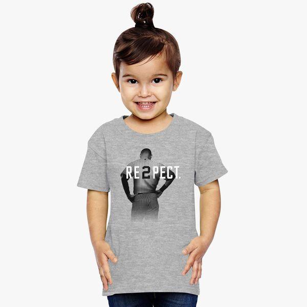 dbe1cecc1 Respect Derek Jeter Toddler T-shirt | Kidozi.com