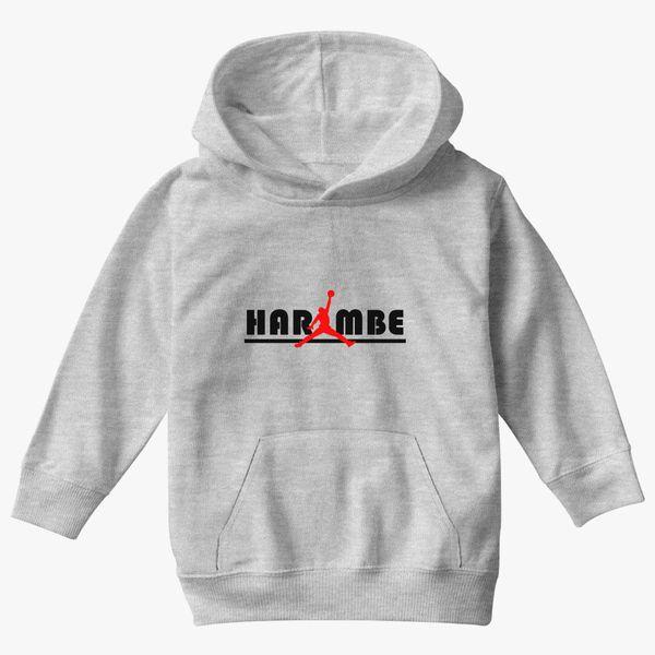 c0b8930474eb3 Jordan Harambe Kids Hoodie - Kidozi.com