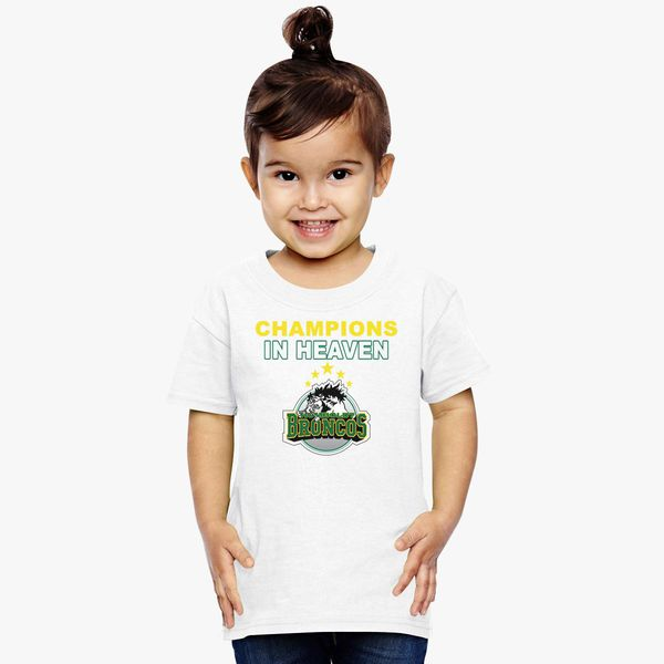 cacbe2b78 Humboldt Broncos Champions in Heaven Toddler T-shirt +more