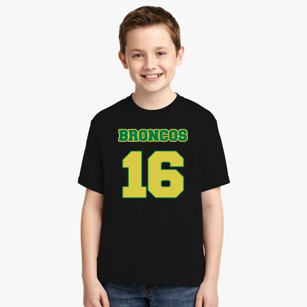 2b4c3824 Broncos 16 Youth T-shirt - Kidozi.com
