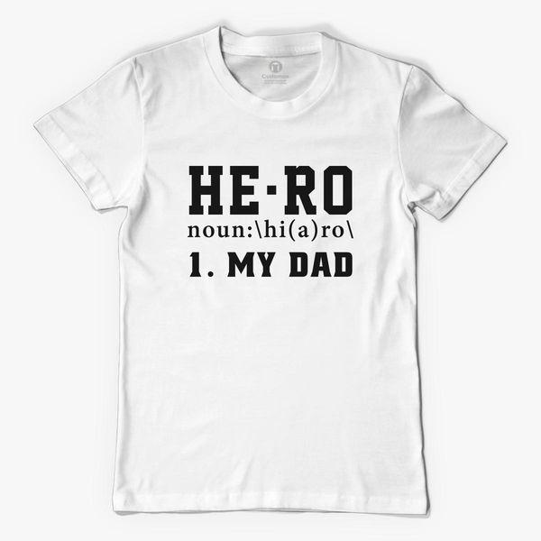 7cda48f5 Hero Dad Men's T-shirt   Kidozi.com