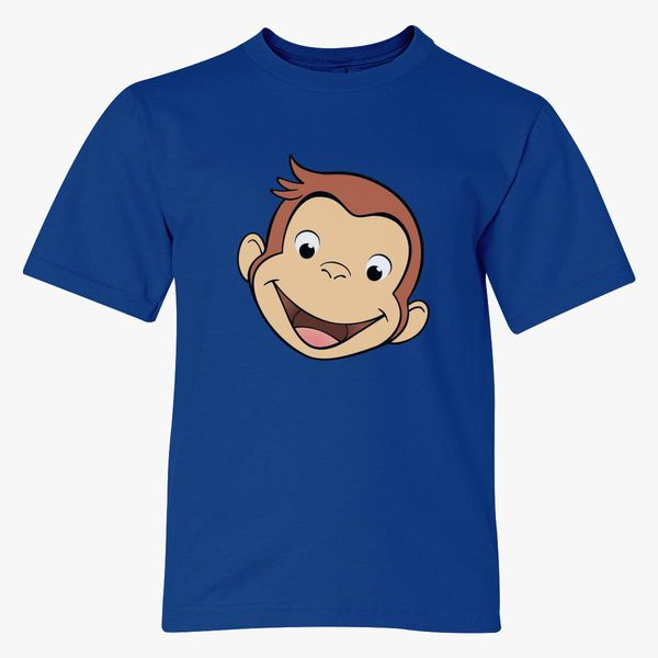 Curious George Face Youth T Shirt Kidozi Com