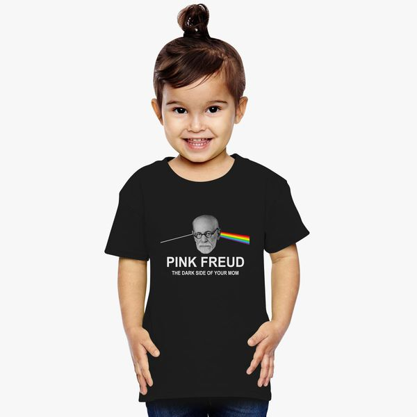 78535a44 Pink Freud Dark Side of Your Mom Toddler T-shirt | Kidozi.com