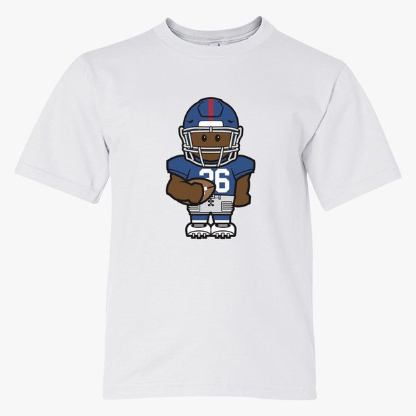 size 40 a19db 9a528 Saquon Barkley Minicon Youth T-shirt | Kidozi.com