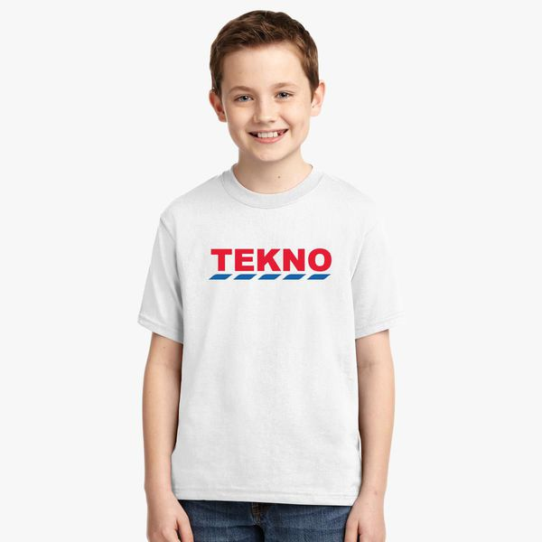 Tekno Tesco Logo Youth T-shirt | Kidozi com