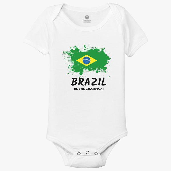 a8de6f523b1 Fifa World Cup 2018 Brazil Baby Onesies | Kidozi.com