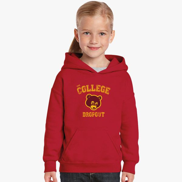 Bear College Dropout Kids Hoodie Kidozi Com