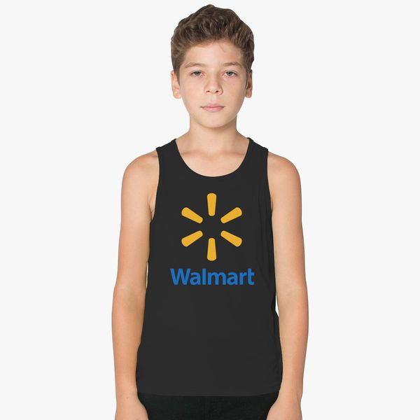 8ffcb7d5376 Walmart Logo Kids Tank Top +more