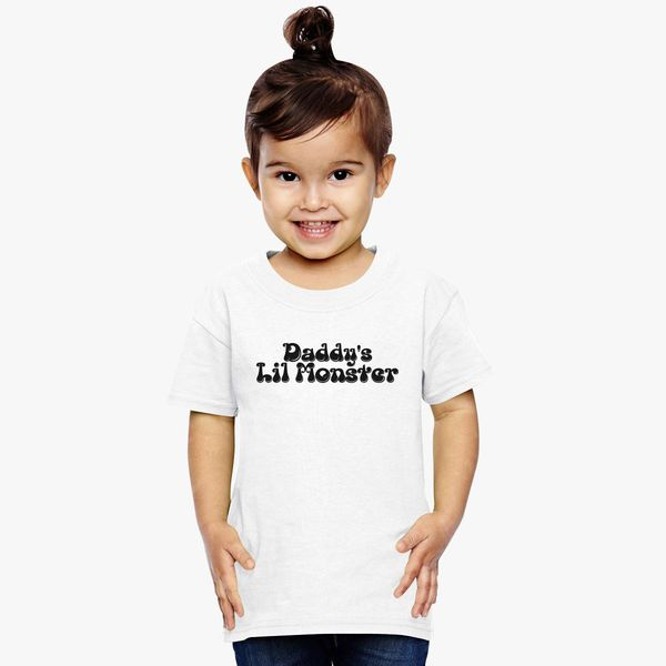 80e9b5d9 Daddy's Lil Monster Toddler T-shirt | Kidozi.com