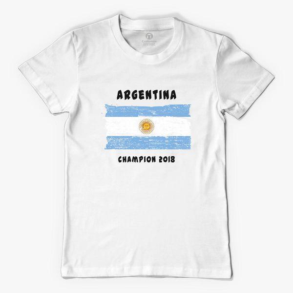 d892d0c2552 Argentina fifa world cup 2018 Men s T-shirt ...