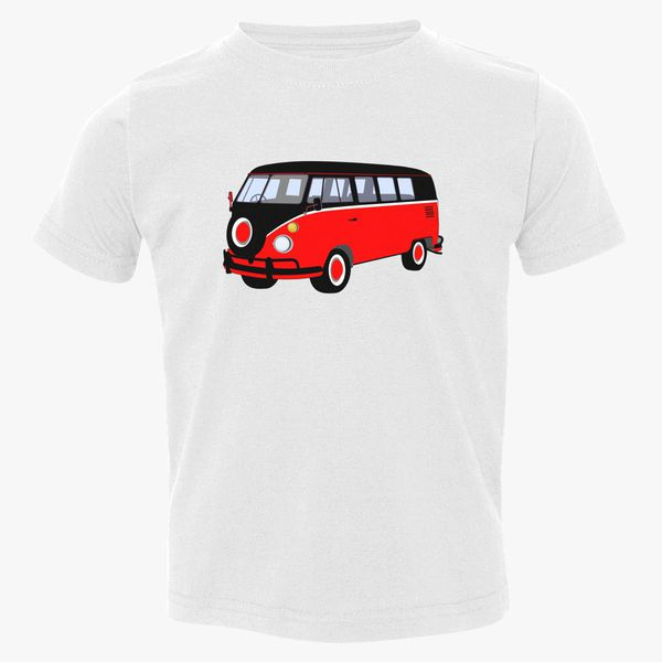 d07f40527 caravan red Toddler T-shirt | Kidozi.com