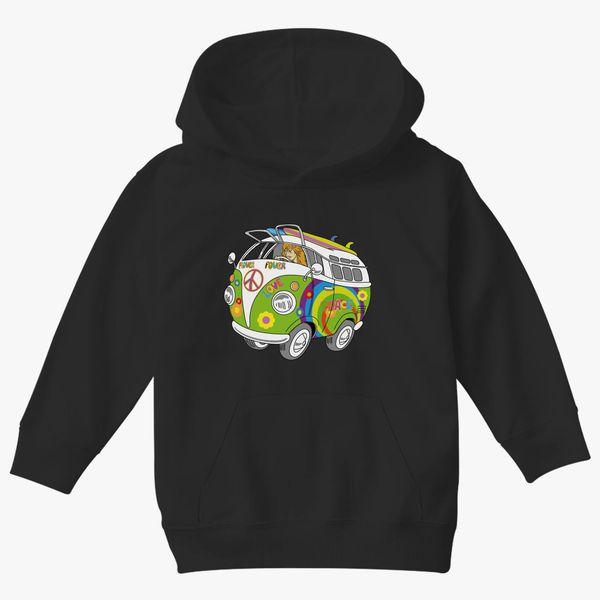 Baby Hoodie Flower Power Hoodie Kids Hoodie Mountain Pass Hoodie Colourful Kids Clothes Warm Heart Hoodie