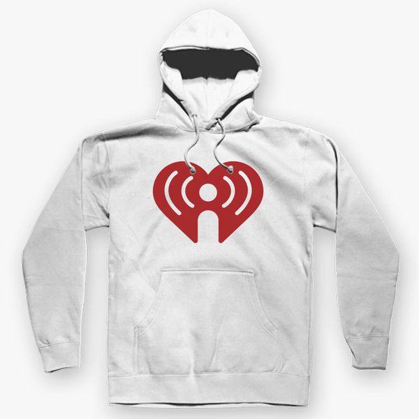 I Heart Radio (IHeartRadio) Symbol Unisex Hoodie | Kidozi com