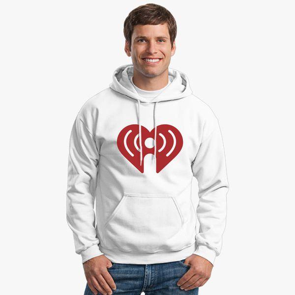 I Heart Radio (IHeartRadio) Symbol Unisex Hoodie   Kidozi com