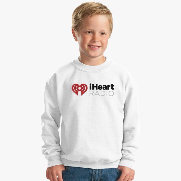 I Heart Radio (IHeartRadio) Symbol Kids Sweatshirt   Kidozi com
