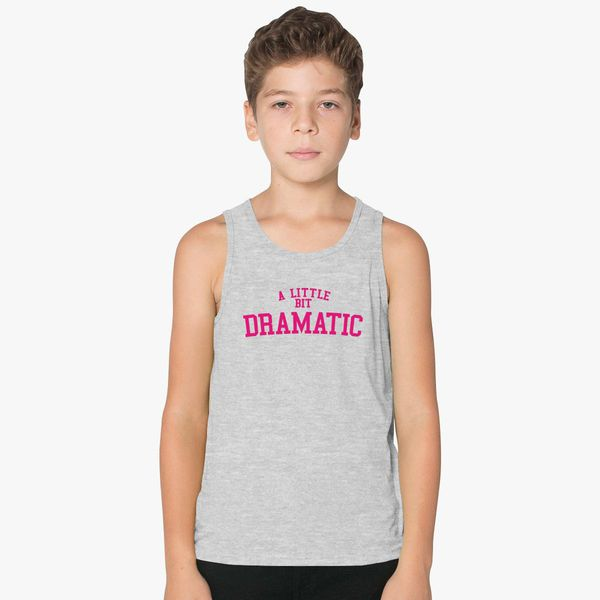 a32df01c12d735 A Little Bit Dramatic  Mean Girls Kids Tank Top
