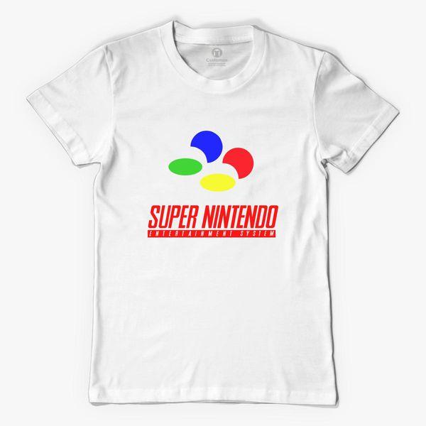 a44f2318 Super Nintendo Logo Men's T-shirt | Kidozi.com