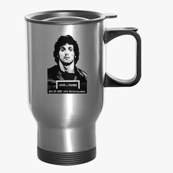 John Rambo Travel Mug - Kidozi com